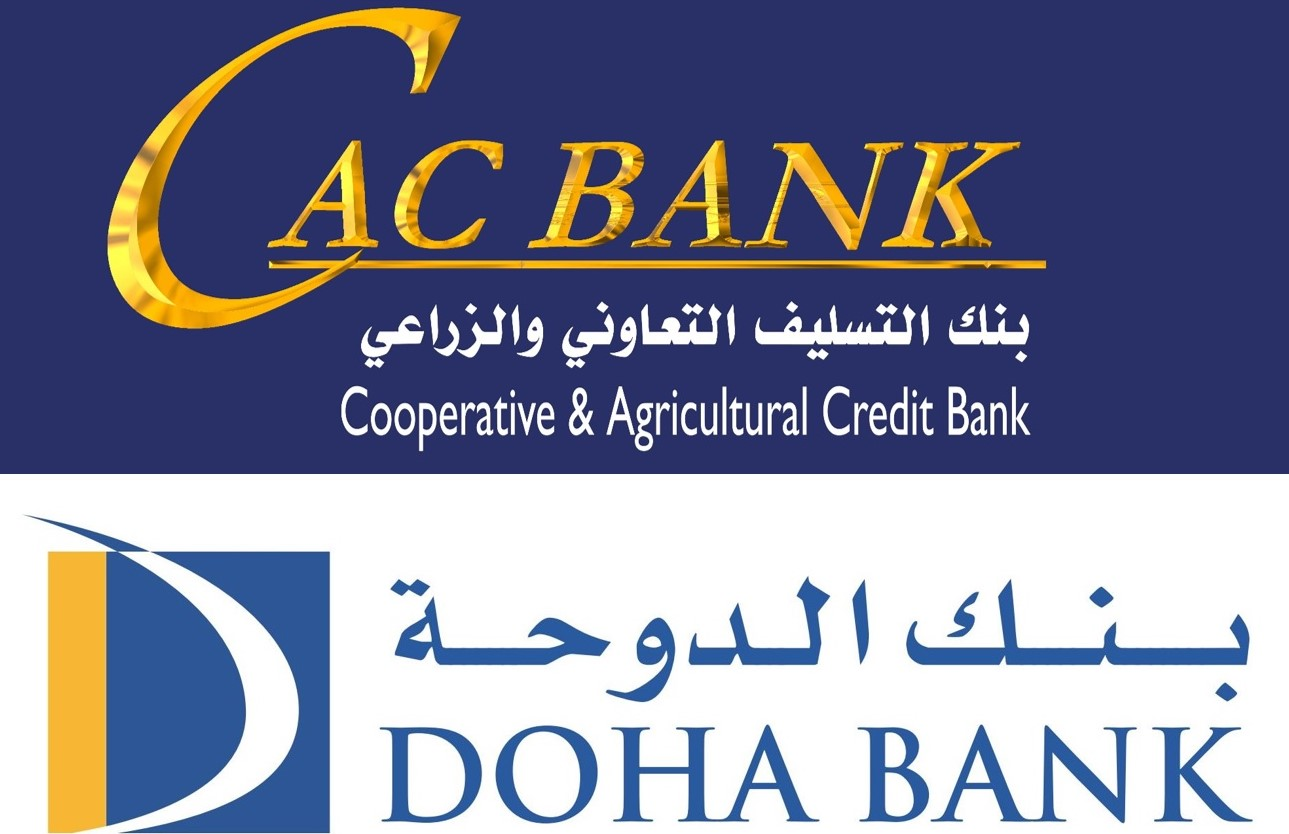 CAC Bank Signed an Electronic Remittances Agreement with Doha Bank